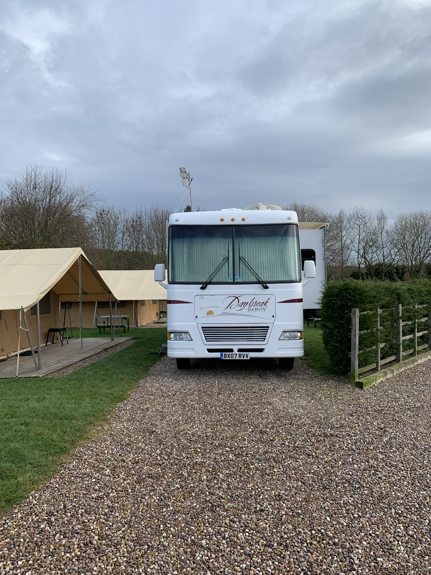 Review of Teversal Camping and Caravanning Club Site