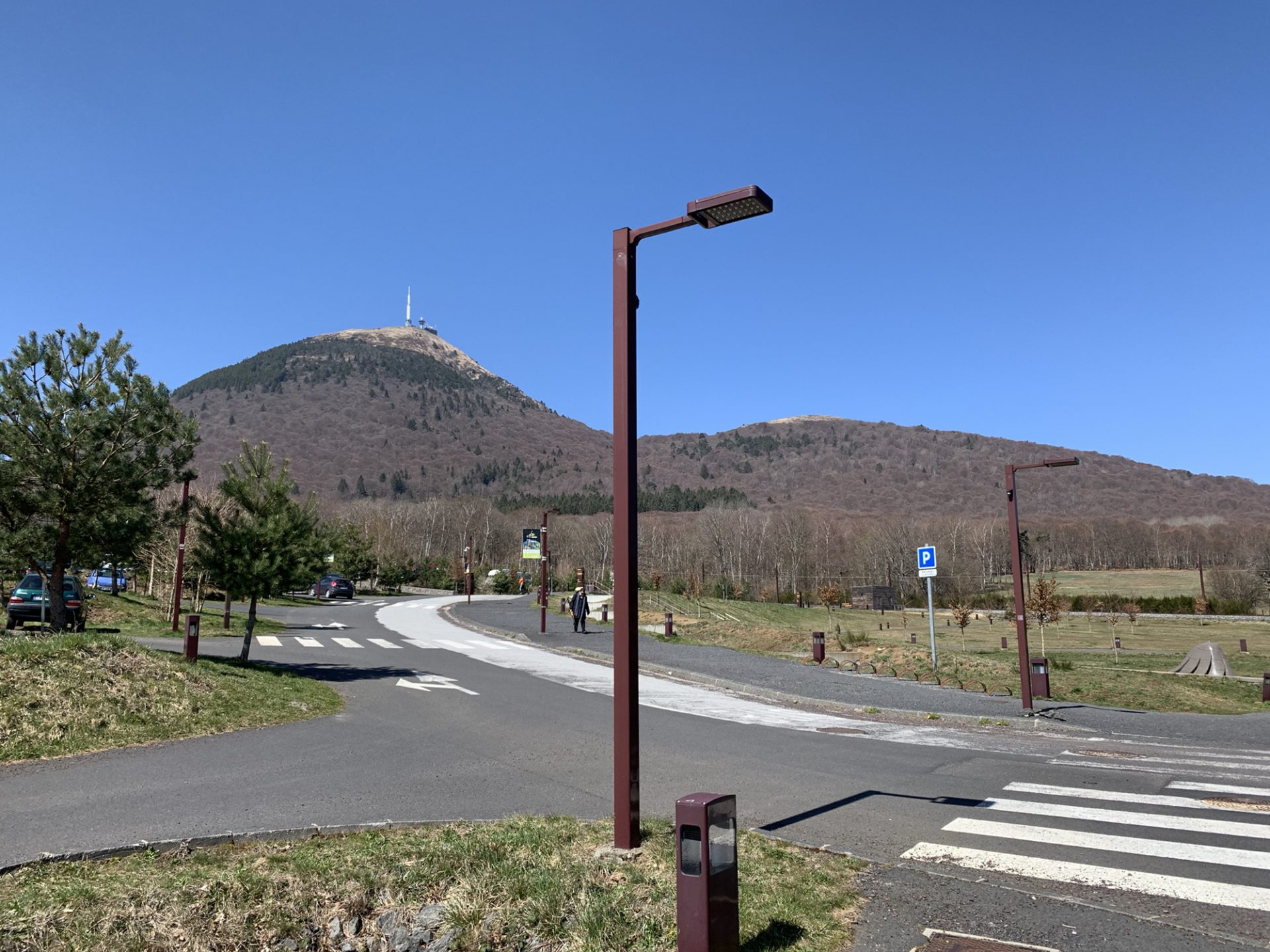 Surrounded by Giants, Clermont-Ferrand, Volcanoes and the history of tyres