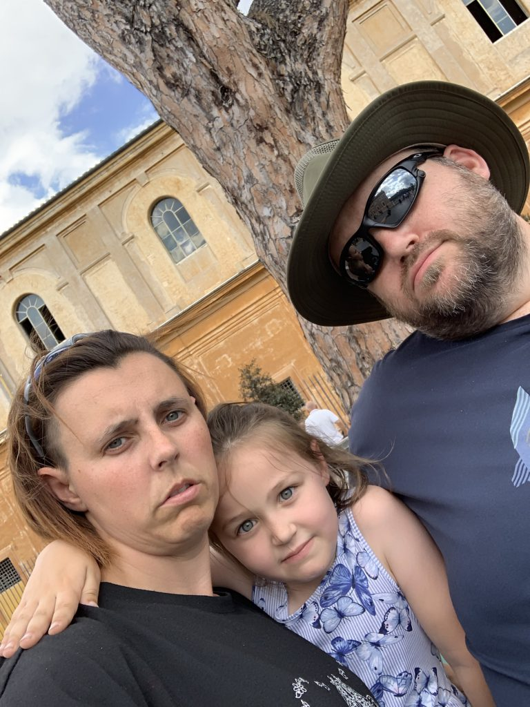 Miserable us after Vatican tour