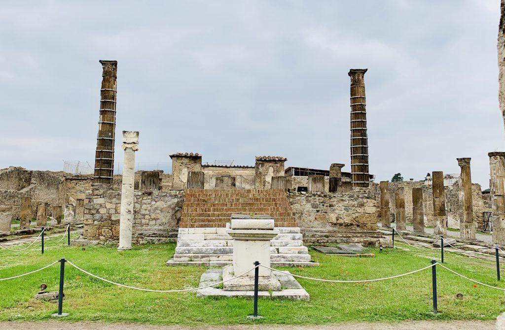 Temple at Pompeii