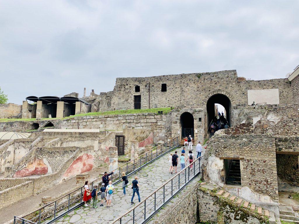 Sea gate at Pompeii