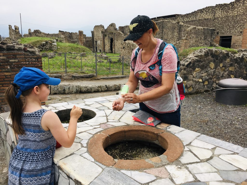 Playing Shops at Pompeii